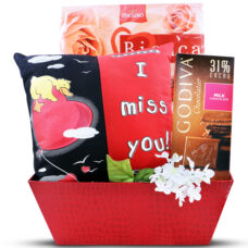 I Miss You Gift Basket Valentine's Day Gift