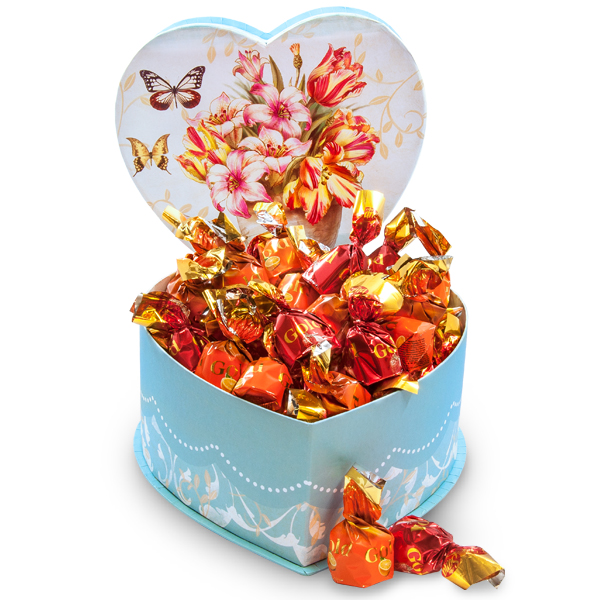 Just For Her - Heart Gift Box of Sweets