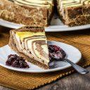 Chocolate Vanilla Twist Cheesecake - 9 Inch