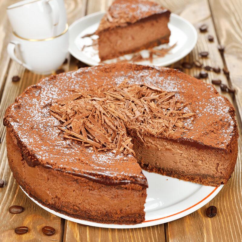 Triple Chocolate Heaven Cheesecake