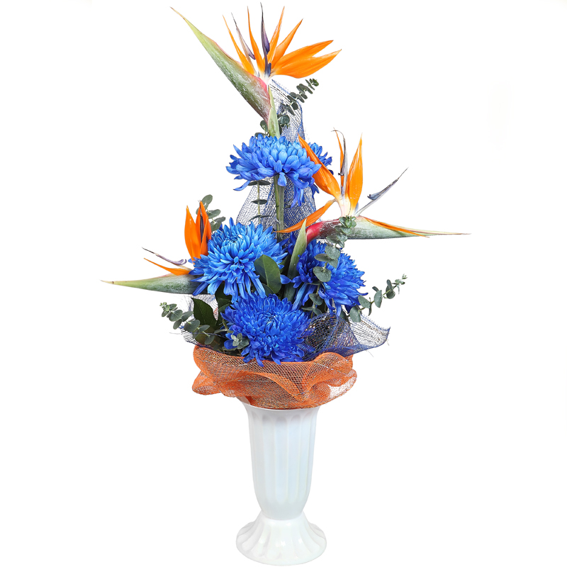 Flower Baskets Delivery : Dedicated devotion bouquet flower delivery