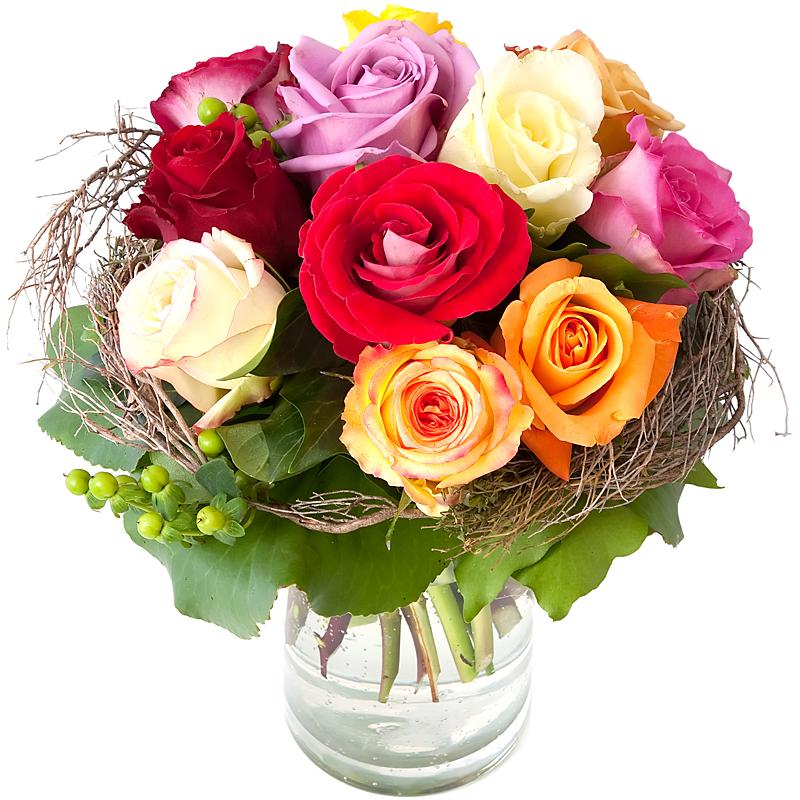 Sweet Victorian Blooming Roses
