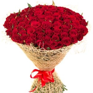 Dreamy 101 Red Roses