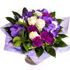 Beautiful Purple Sensation Bouquet