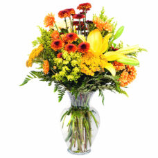 Hawaiian Sunrise Mixed Bouquet - Flower Delivery Toronto