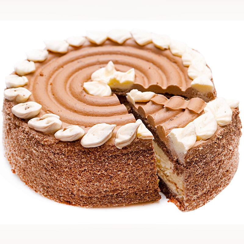 Creamy Mocha Layer Cake