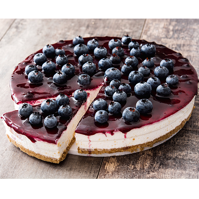 Blueberry Garden Cheesecake