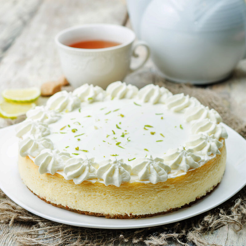 Tangy Key Lime Cheesecake