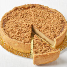 Apple Caramel Crunch Cheesecake