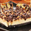 Turtle Pecan Caramel Cheesecake