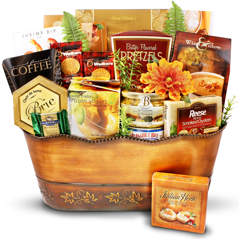 Bountiful offerings gift basket for Bountiful storage