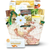 Around the World Faux Leather Magazine Tote