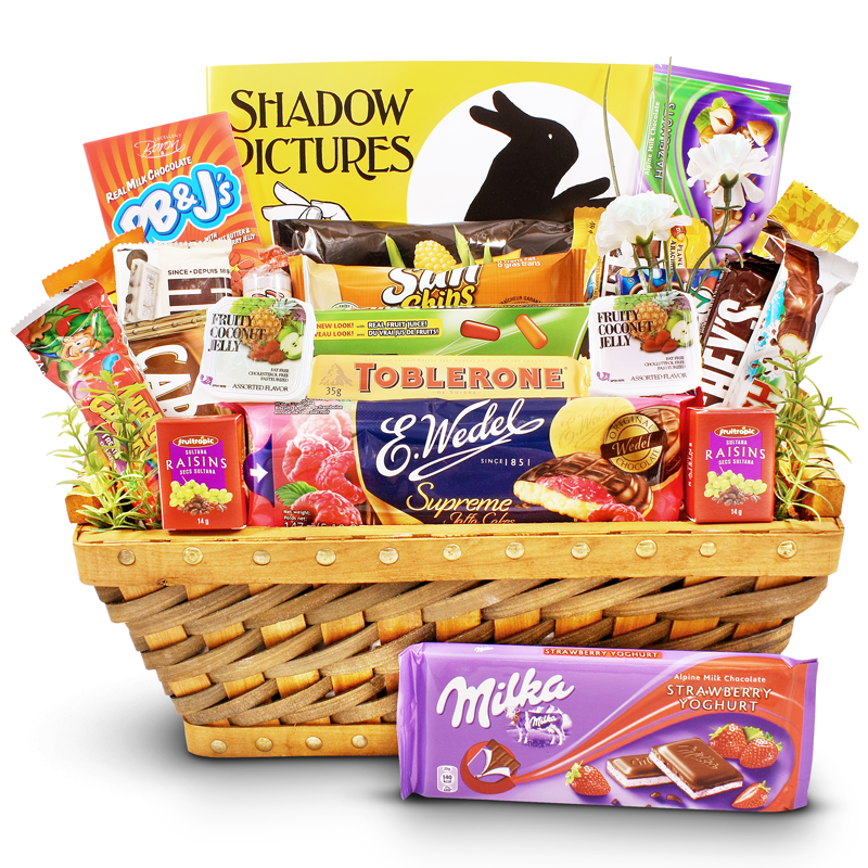 Shadow Pictures and Sweets - Fun Children Gift Basket