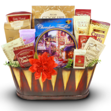 My Sincere Condolences - Sympathy Gift Basket