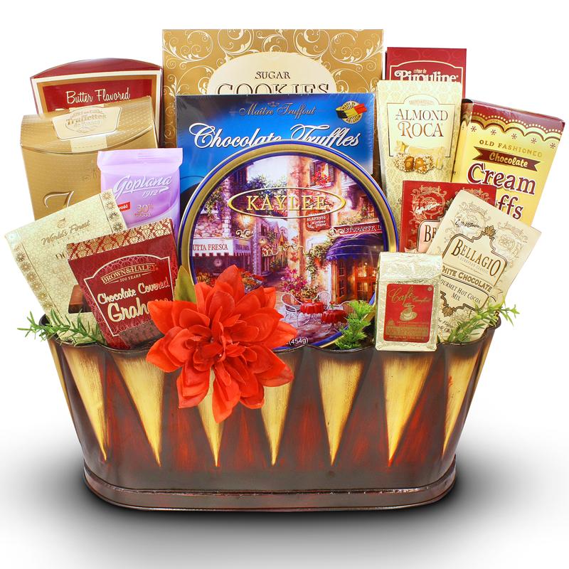 My Sincere Condolences - Sympathy Gift Basket