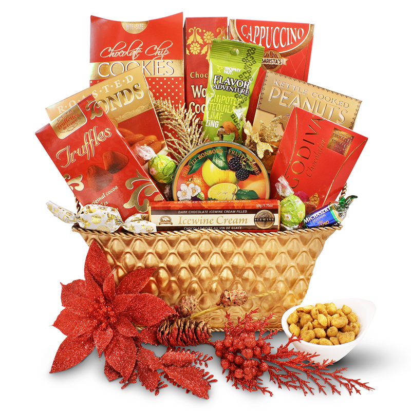 Holiday Package Gift Basket