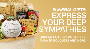 Sympathy Gifts - Gourmet Gift Basket Store