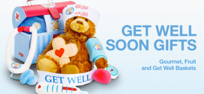 Get Well Soon Gifts - Gourmet, Fruit and Get Well Baskets