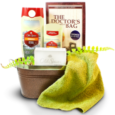 Old Spice Bath Care Basket For Dad
