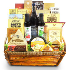 Cream of the Crop Italian Infused Gourmet Gift basket