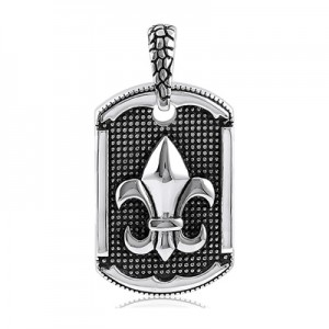 Stainless Steel Pendant with Chain