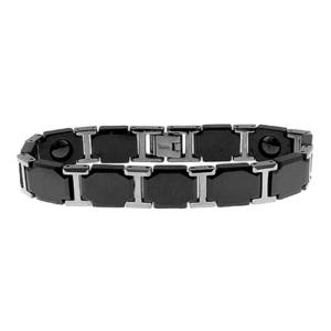 Man's Bracelet Stainless Steel - Black