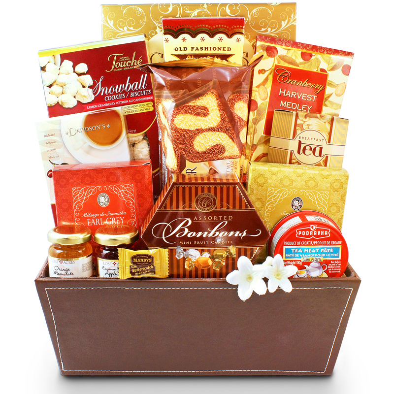 Tea lovers basket