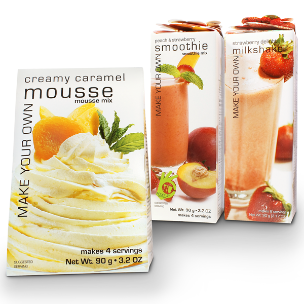 Nut Free Smoothies and Mousse - Canadian Made Gourmet
