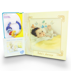 Baby Content Journey book - Boy