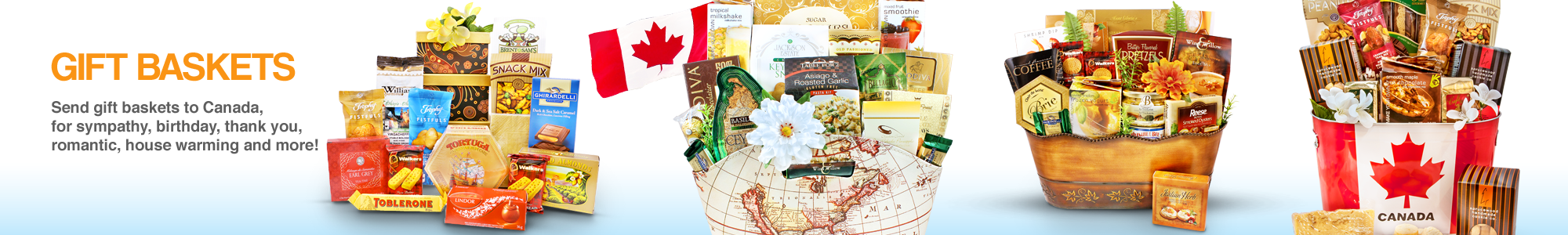 Gift Baskets Canada - Gourmet Gift Basket Store
