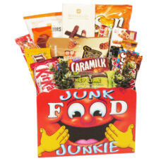 Junk Food Junkie - Snack gift basket