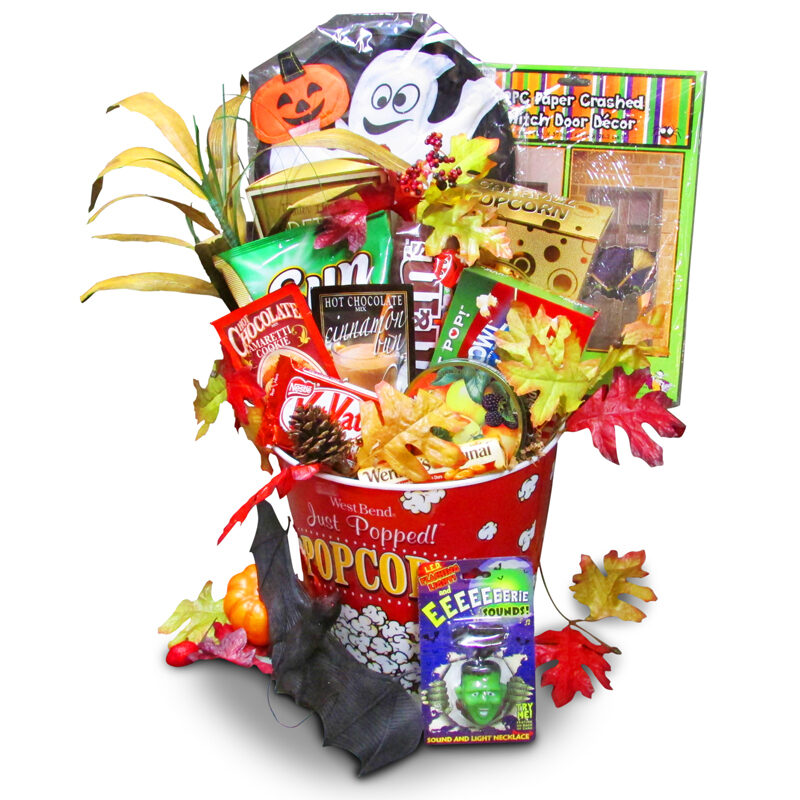 Spooky popcorn-Halloween gifts for children