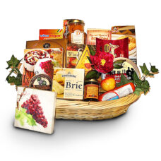 Holiday Gourmet Flair Gift Basket