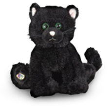Free Plush Toy Cat Halloween Gift Baskets at Gourmet Gift Basket Store