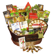 The Grand Indulgence - Deluxe and Premium Gift Basket