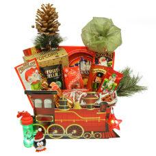 Santa's Holiday Train Gift Package