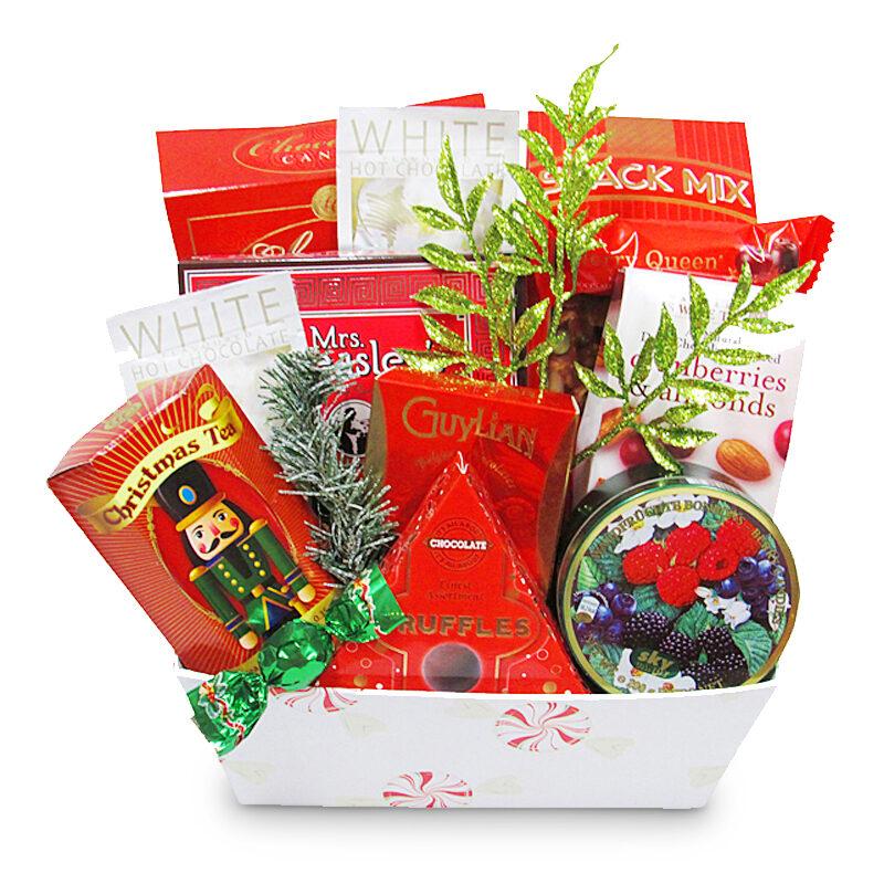 Cozy Comforts Christmas Gift Basket