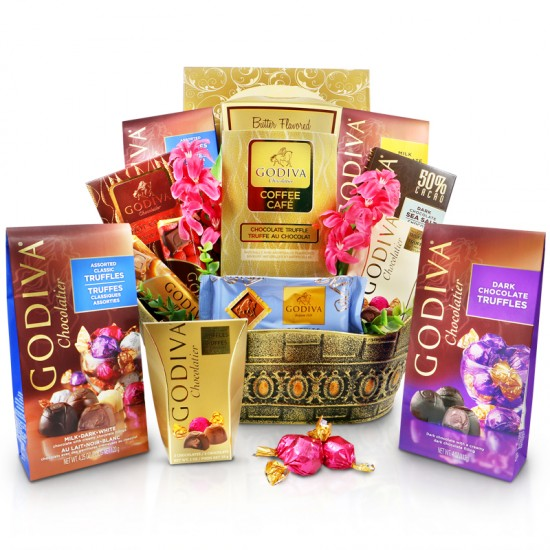 Godiva Celebrations Gift Basket - Chocolate gifts
