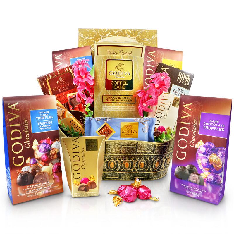 Godiva Celebrations Gift Basket - Chocolate gifts