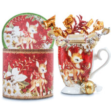 Baby Reindeer Mug and Chocolates Gift