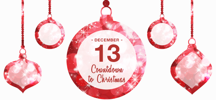 White Christmas Gift Basket- Countdown to Christmas