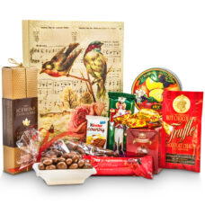 A Bird Garden Gift Box and Gourmet Chocolates-Medium