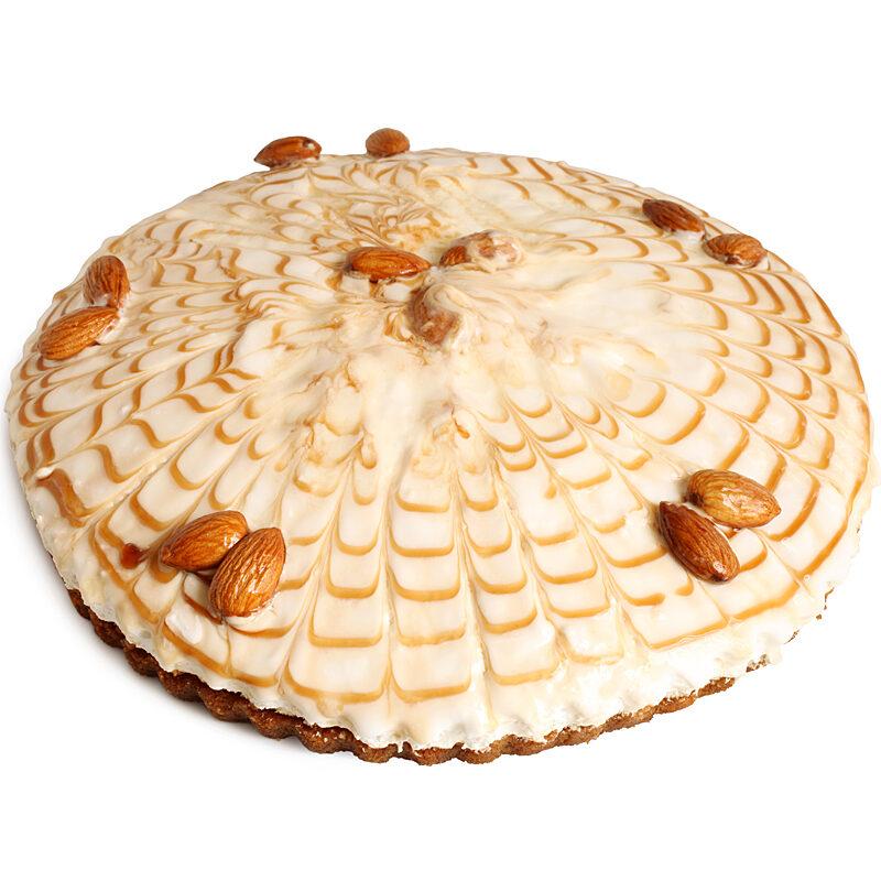 Delightfully Almond Amaretto Mousse Cake - 8 Inch
