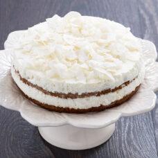 Almond Mousse Chocolate Cake