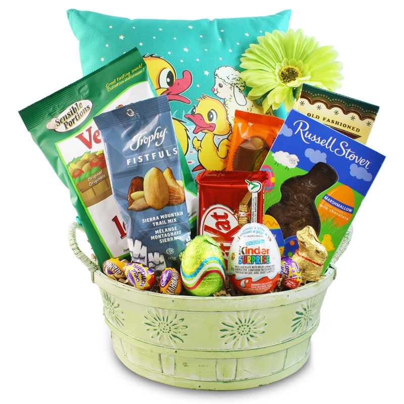 Easter Party Snack Basket