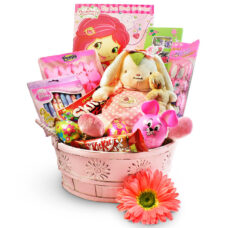 Blossom Bunny Gift Basket