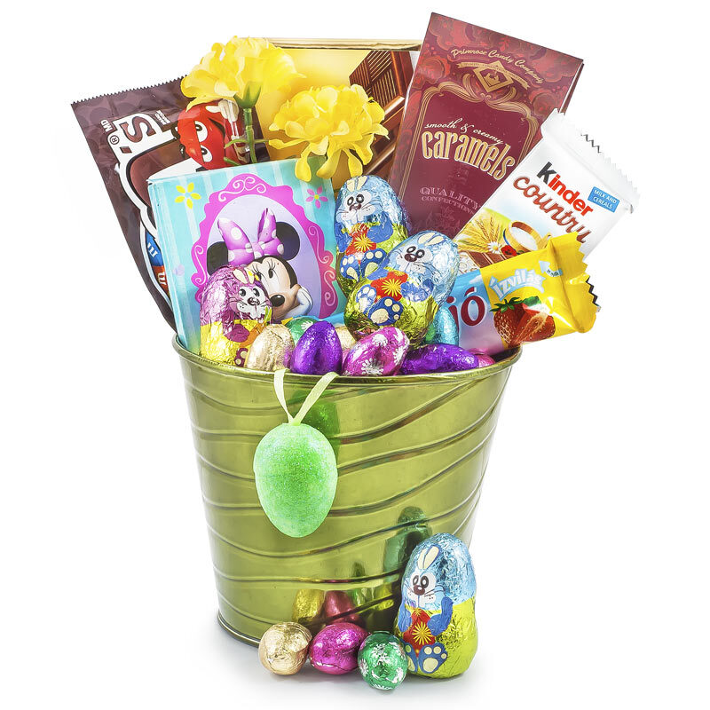Hip Hop Easter Wishes Gift Pail with Coloring Chalk