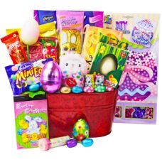 Bunny Delight Easter Chocolate Basket