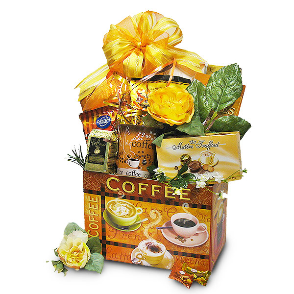 Morning Brew Coffee Delight Gift Basket
