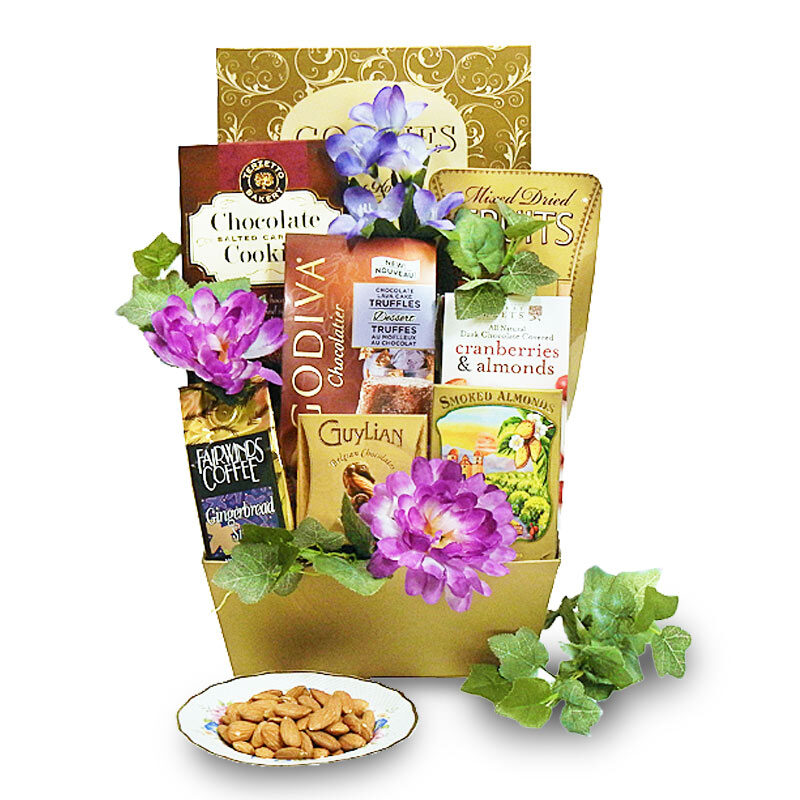 Heartfelt Thank You - Appreciation Gift Basket